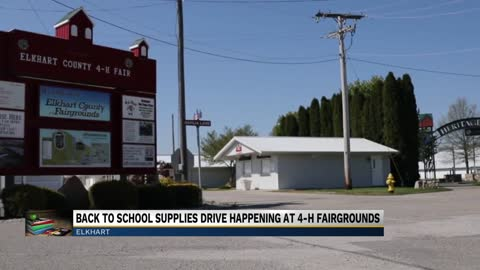 Elkhart County 4-H Fair holding back-to-school supply drive